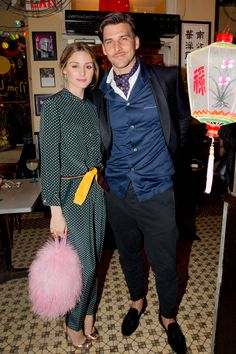 Vogue.com's Pre-Met Gala Party in Chinatown - Olivia Palermo and Johannes Huebl