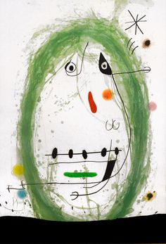 Joan Miró - L' Exile Vert (The Green Exile), 1969