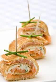 Canapés are a great way to provide a sophisticated selection of bite-sized morsels to impress your guests