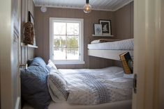 Huysuz A dream house of 42 square: - Without large funds, the cottage now appears as cozy, intimate Bunk Rooms, Bunk Beds, Cozy Bedroom, Bedroom Decor, The Farm, Swedish Cottage, Cute Furniture, Cabin Interiors, Tiny House Design