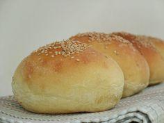 Varomeando: Pan para hamburguesas No Knead Bread, Pan Bread, Yeast Bread, Thermomix Bread, Savory Scones, Hamburger Buns, Bread Machine Recipes, Our Daily Bread, Bread And Pastries