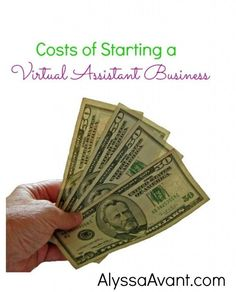 Costs of Starting a Virtual Assistant Business