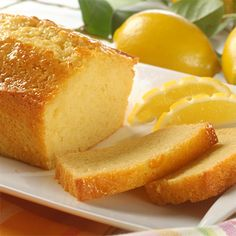 Try Old-Fashioned Lemon Bread! You'll just need Old-Fashioned Lemon Bread, Ingredients:, 1 cups all-purpose flour, 1 cup granulated sugar, 1 teaspoon. Köstliche Desserts, Lemon Desserts, Delicious Desserts, Dessert Recipes, Yummy Food, Recipes Dinner, Fun Food, Cheesecake Recipes, Snack Recipes