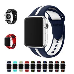 sale urvoi sport band for apple watch series 1 2 strap for iwatch soft silicone ultraman #watch #strap #replacement