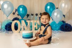 Trendy Baby First Outfit Newborns Boys Cake Smash Ideas Cake Smash Outfit Girl, Baby Cake Smash, Baby Girl Cakes, Smash Cake For Boys, Smash Cakes, Boys 1st Birthday Cake, 1st Birthday Photoshoot, Photo Bb, Trendy Baby