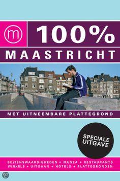 100% MAASTRICHT / SPECIALE UITGAVE - Janneke Philippi - ISBN 9789057675393. Of je nu gaat voor sightseeing, shoppen, culinair genieten of avontuur; met deze gids op zak ontdek je MAASTRICHT in no-time. De leukste bezienswaardigheden, musea, parken, restaurants, cafés en winkels zijn overzichtelijk gerangschikt per stadsdeel. Drie wandelingen leiden je overdag langs ALLE MOOIE PLEKKEN....GRATIS VERZENDING - BESTELLEN BIJ TOPBOOKS VIA BOL COM OF VERDER LEZEN? DUBBELKLIK OP BOVENSTAANDE FOTO!