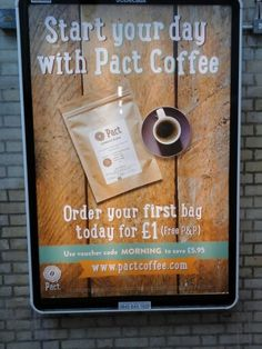 Pact coffee Coffee Subscription, Coffee Service, Voucher Code, One Bag, Best Coffee, Barware, Day, Posters, Poster