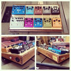 The ultimate strymon collection might also just be the ultimate pedalboard!