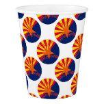 Arizona Flag Baseball Paper Cup #weddinginspiration #wedding #weddinginvitions #weddingideas #bride