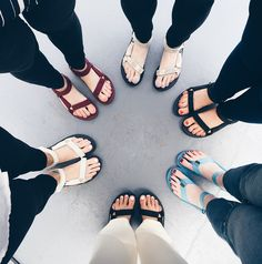 How to Wear: Teva sandals