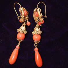 Vintage Mexican Wedding Earrings