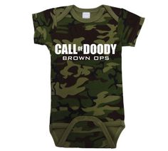 Call Of Doody Funny Video Game Infant Baby One Piece Newborn Camo Cutie Pie Clothing http://www.amazon.com/dp/B00NGYCPFU/ref=cm_sw_r_pi_dp_SM0jvb0HQH3HZ