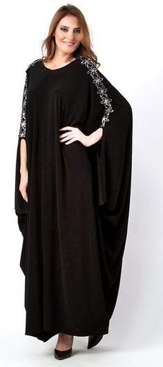 Latest Saudi Abaya Designs Fashion 2017 2018 Simple Black