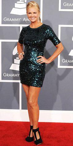 i want this dress Nancy O'Dell #fashion #grammys