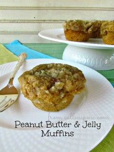 Delicious Peanut Butter and Jelly Muffins