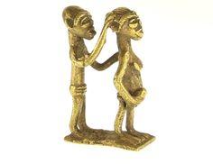 Akan/Asante Gold Weight #1140 | Goldweight Figures | Metal — Deco Art Africa - Decorative African Art - Ethnic Tribal Art - Art Deco