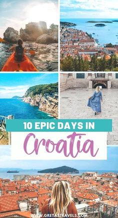 10 Epic Days in Croatia. How to see Croatia in 10 days. Planning a trip to Croatia? Check out this travel guide and detailed 10-day itinerary to find out all the best things to do and see on your next trip | Croatia Itinerary | What to do in Croatia | What to see in Croatia | Croatia Travel Guide | Croatia Holiday | #croatia #croatiatravel Croatia Itinerary, Croatia Travel Guide, Europe Travel Guide, Travel Guides, Travel Destinations, Travel Abroad, Holiday Destinations, Budget Travel, Italy Travel