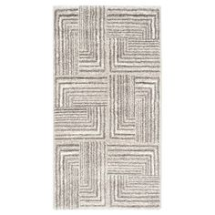 Safavieh Kingston Accent Rug - Light Grey / Dark Grey ( 2' 7 X 5' )