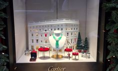 Cartier's Christmas window - why not enter our #vmchristmasawards competition? http://www.retaildesignexpo.com/features/the-vm-christmas-awards