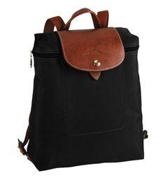 Longchamp Women's Le Pliage Sac À Dos Backpack, Bilberry Longchamp Le Pliage, Longchamp Black, Fashion Handbags, Fashion Bags, Women's Fashion, Fashion Styles, Tote Bag, Women's Handbags, Sewing Patterns