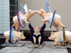 Things That Make Cincinnati Great: Cincinnati Pig Art