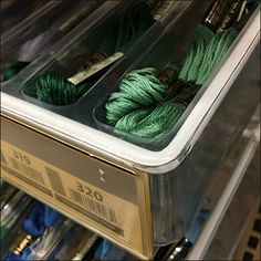 Offering an easily-shopped broad selection, Embroidery Floss Tray Racks Pegboard Mount to the backers of ordinary Gondola. Long and linear, the Tray Racks allow speedy horizontal scanning of offerings. Hooks, Pin Up, Tray, Retail, Embroidery, Needlepoint, Trays, Wall Hooks, Sleeve