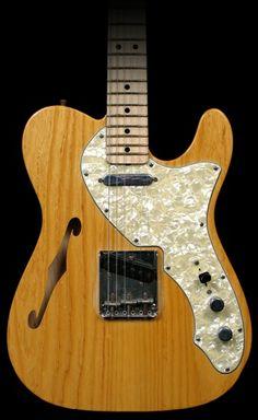 Fender Telecaster Thinline 1968 Relic Aged Natural Masterbuilt Mark Kendrick R38368combo