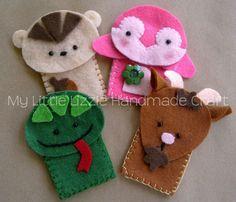 My Little Lizzie Handmade Craft - Catalogue: Finger Puppets - Zoo&Farm