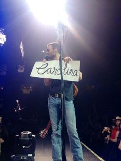 Carolina....I'm making a sign next time and t-shirts!