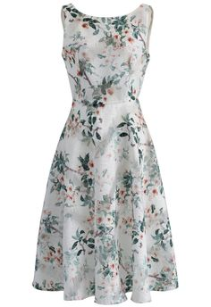 My Flowery Dream Open Back Dress - New Arrivals - Retro, Indie and Unique Fashion