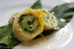 anies delight: Kartoffelrolle mit Pesto und Zitrone