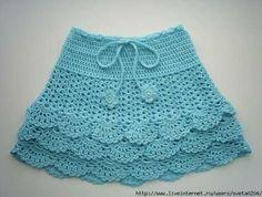 Fabulous Crochet a Little Black Crochet Dress Ideas. Georgeous Crochet a Little Black Crochet Dress Ideas. Crochet Skirt Pattern, Crochet Skirts, Knit Skirt, Crochet Patterns, Skirt Patterns, Black Crochet Dress, Knit Crochet, Baby Skirt, Crochet Baby Clothes