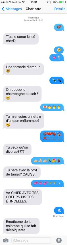 "C'est le mois des ex chez URBANIA. Et qui dit ""ex"" dit ""rupture"". Et qui dit ""rupture"" dit ""techniques de rupture"", qui comprennent notamment la façon plut — Top Funny Sms, Funny Texts, Funny Jokes, Rage, Funny French, Some Jokes, Messages, Just Smile, Funny Moments"