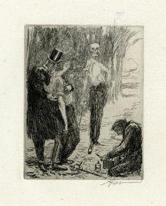 Albert Besnard, Elle: Le duel