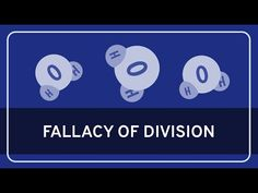 In this Wireless Philosophy video, Paul Henne (Duke University) describes the fallacy of division, the informal fallacy that arises when we assume that the p. Logical Fallacies, Conversation Topics, Duke University, Critical Thinking, Division, Challenge, Youtube