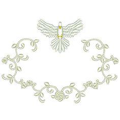 MOLDURA COM DIVINO 10 CM