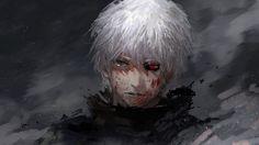 1920x1080 Wallpaper tokyo ghoul, kaneki ken, guy, anime, face