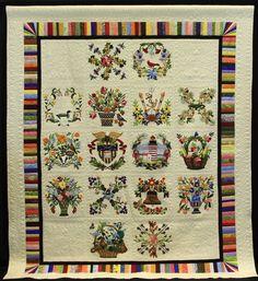 American Treasures, Susan Slaton. NQA 2013 Quilt Show Winners