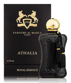 Parfums de Marly's new #perfume Athalia has a blossomy opening with a strong heart and rich, deep base notes.