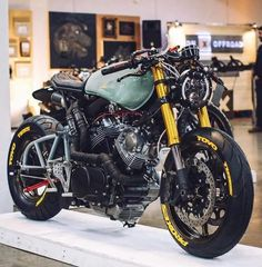 The personalized bike will be an exclusive motorcycle using the shape geometry as well as Yamaha Virago, Virago Cafe Racer, Moto Bike, Cafe Racer Motorcycle, Motorcycle Design, Bike Design, Cafe Bike, Cafe Racer Bikes, Custom Motorcycles