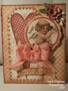 "Super cute Valentine's Day Card that my ""BOLB"" (best on line buddy) created using my Digital Collage sheets that you can find me here:  https://www.etsy.com/shop/MyArtisticAdventures She lists all the sheets that she used on her blog.  Hope you will give her a visit!! TFL Heather"