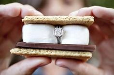 Tis the season!  A campfire, S'mores and a diamond…what more could you ask for?