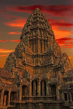 Angkor Wat, Cambodia (the travel writer challenged me to go here... and so I will!)
