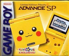 I found 'Pikachu Gameboy Advance SP' on Wish, check it out!