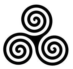 Irish Symbols - Good To Know - About Ireland Irish Symbols, Celtic Symbols, Swirl Tattoo, I Tattoo, Wrist Tattoo, Pub Design, Irish Pride, Doodles Zentangles, Celtic Designs