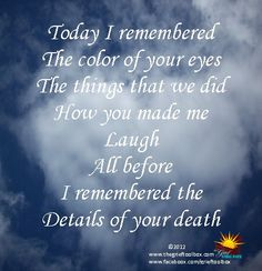 Everything has Changed so much..  I haven't laughed..  I Miss You....Still. xoxo