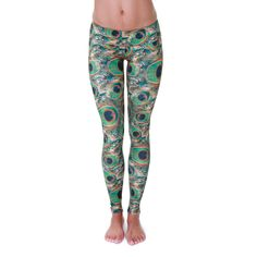 Onzie Long Legging - Peacock Green