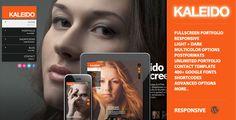 Kaleido Responsive Fullscreen Studio for WordPress - ThemeForest Item for Sale