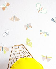 Flutterby Compilation - WALL DECAL