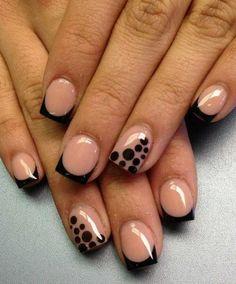 Simple nail art for short nails tutorial